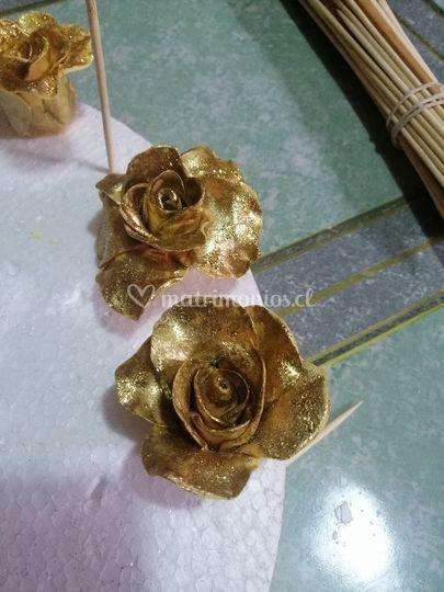 Rosas comestible