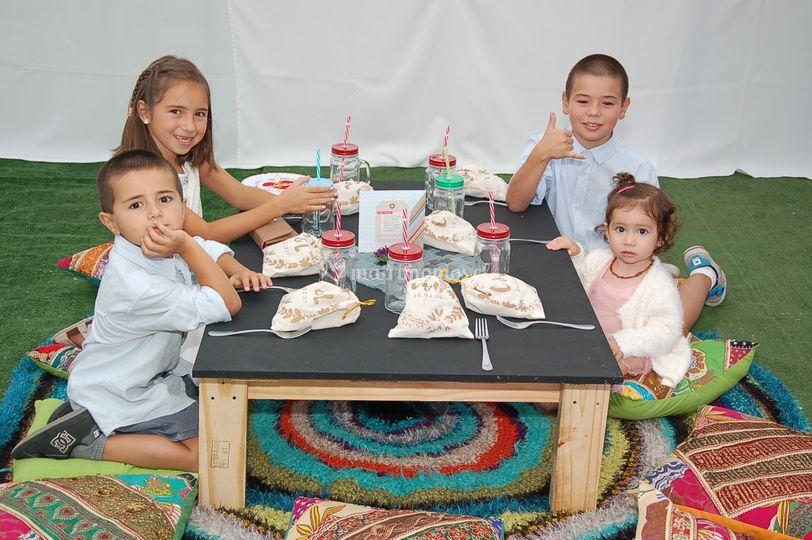 Recuerdos mesa niños