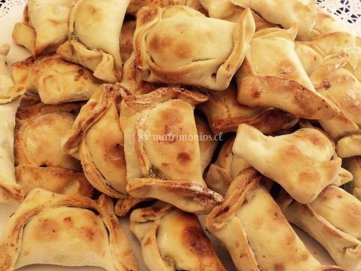 Mini empanadas de pino