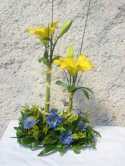 Liliums amarillos