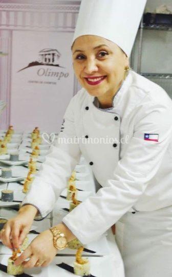 Chef ejecutivo olimpo