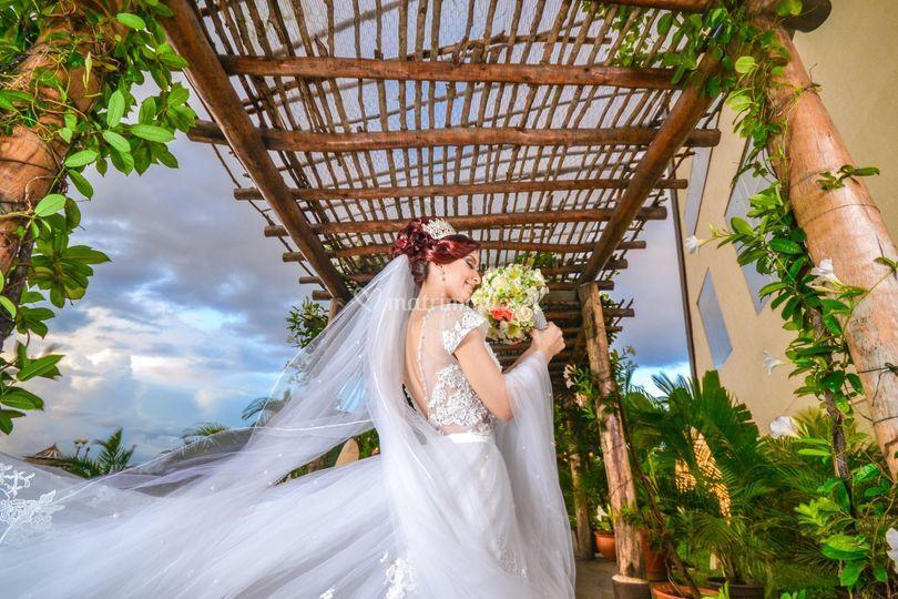 Sesión previa de novia