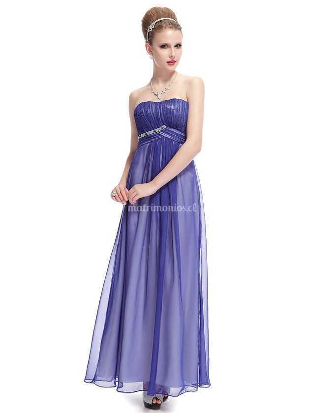 Lujoso Vestidos De Las Damas Fluidas Modelo - Vestido de Novia Para ...