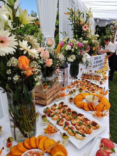 Cocktail buffet matrimonio
