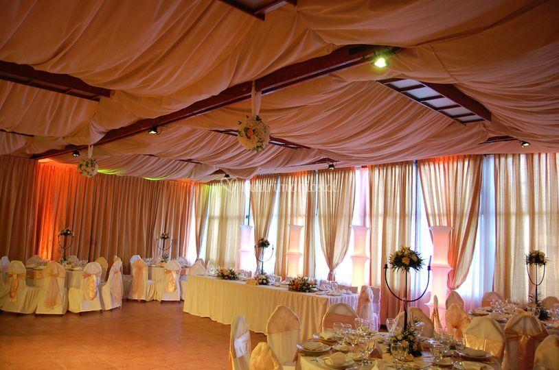 Salón fiesta de bodas