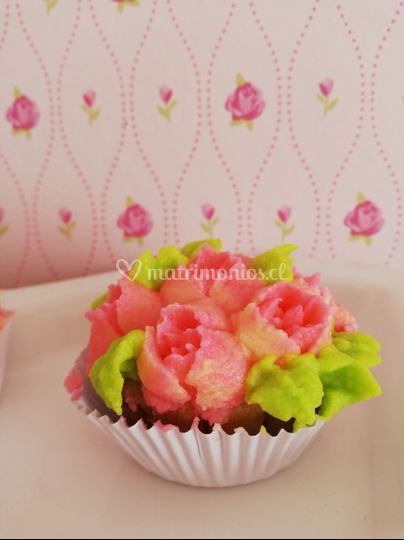 Cupcakes fresa y menta