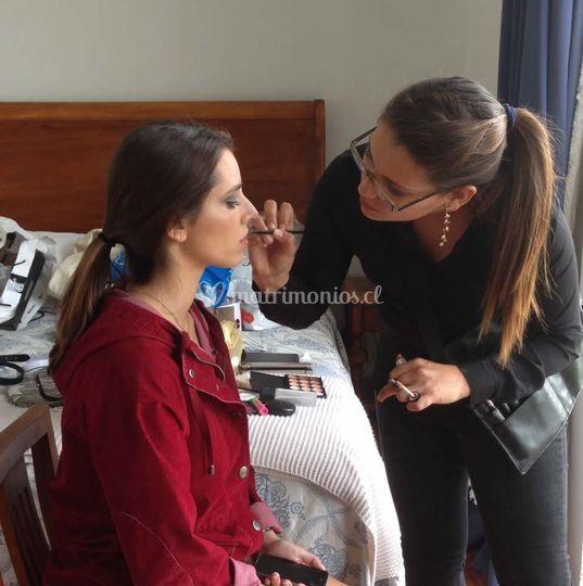 Makeup by María José
