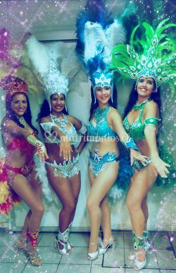 Batucada y samba show