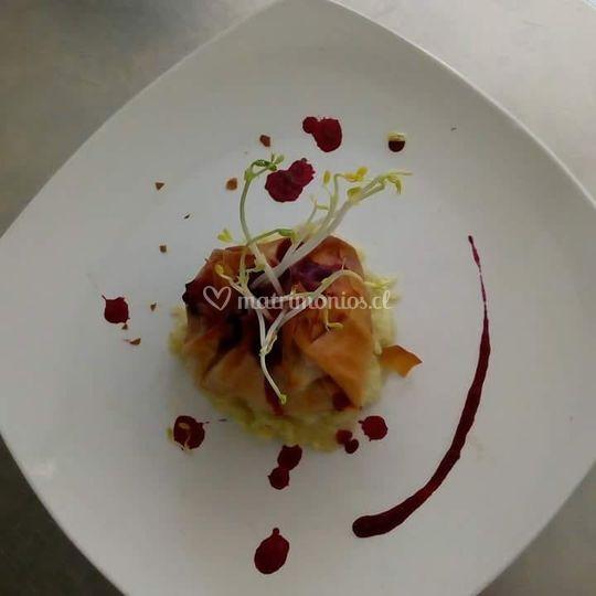 Platos gourmet
