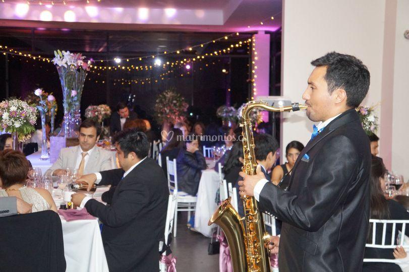 Saxofon and jazz