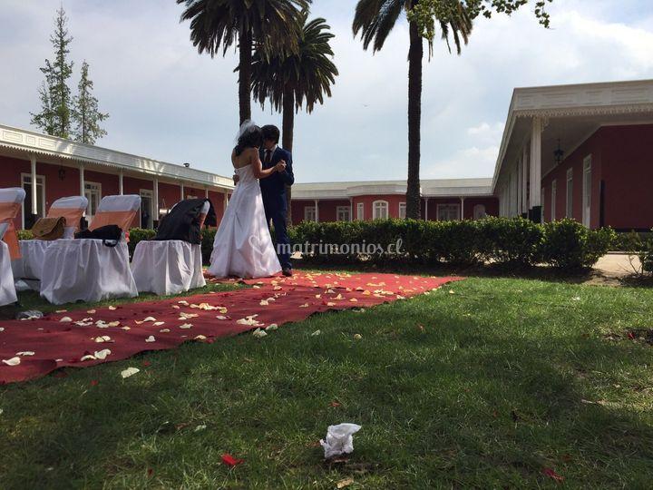 Matrimonio en el lugar