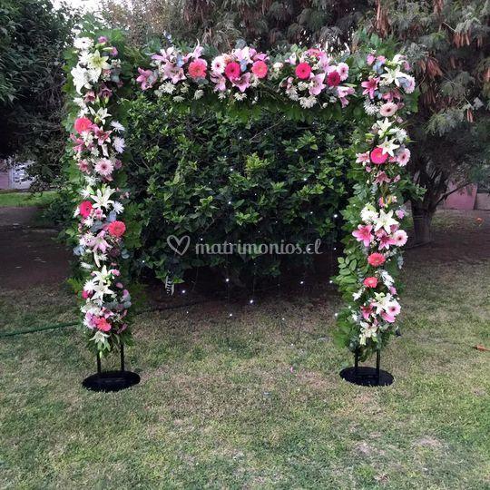 Modelo Arco de bodas
