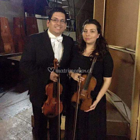 Álvaro y Carolina