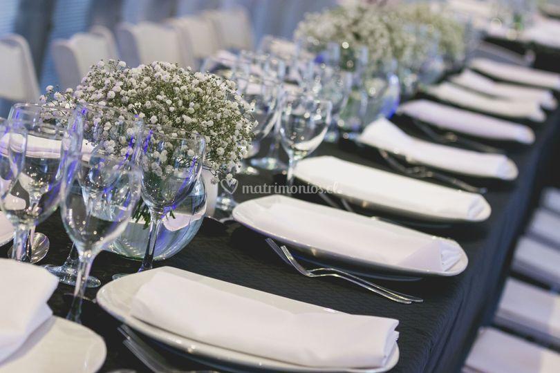 Vajilleria banquete