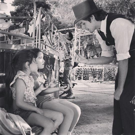 Magia con los pequeños