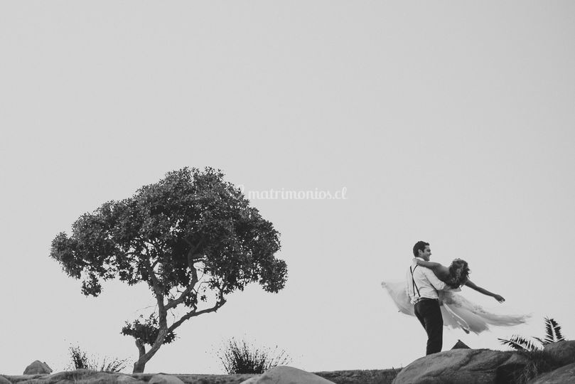 Trash the dress en Las Tacas