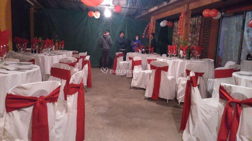 Matrimonio en rojo