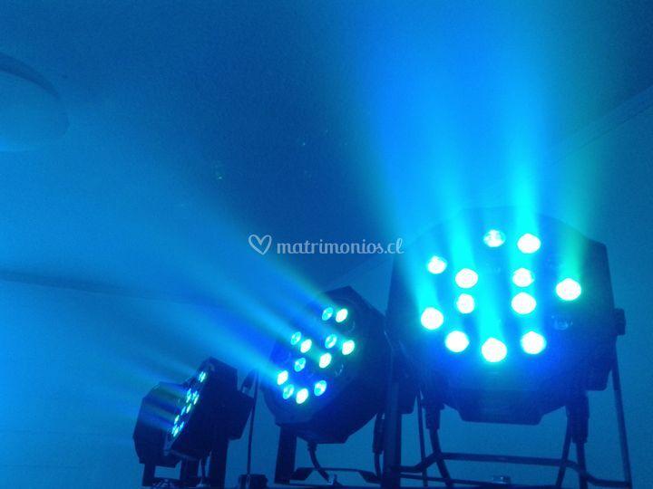 Ejemplo de iluminación led