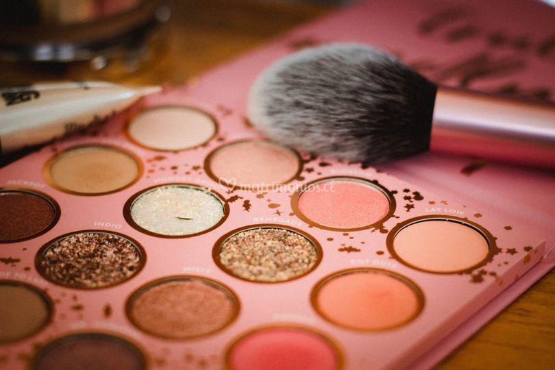 Maquillaje alta gama