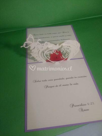 Invitación de corazón