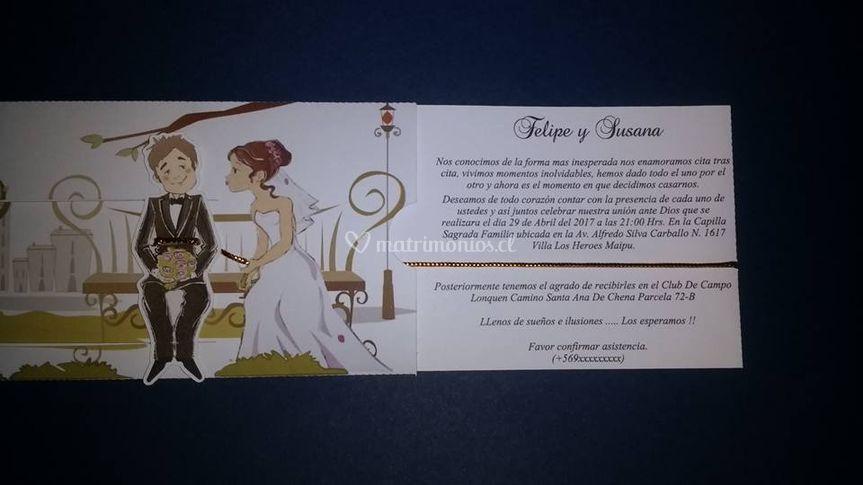 Invitación ilustrada