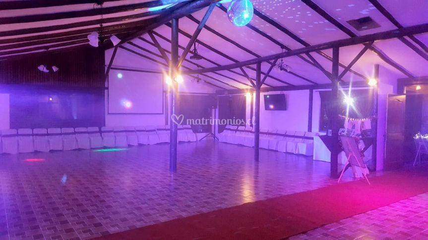 Salón eventos-pista baile