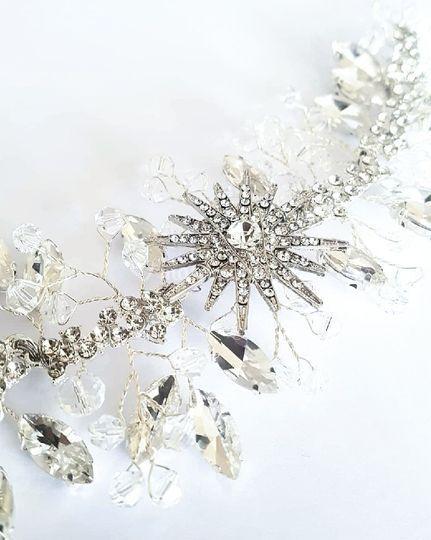 Cristales, brillos y estrella