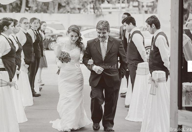 Ingreso de la novia