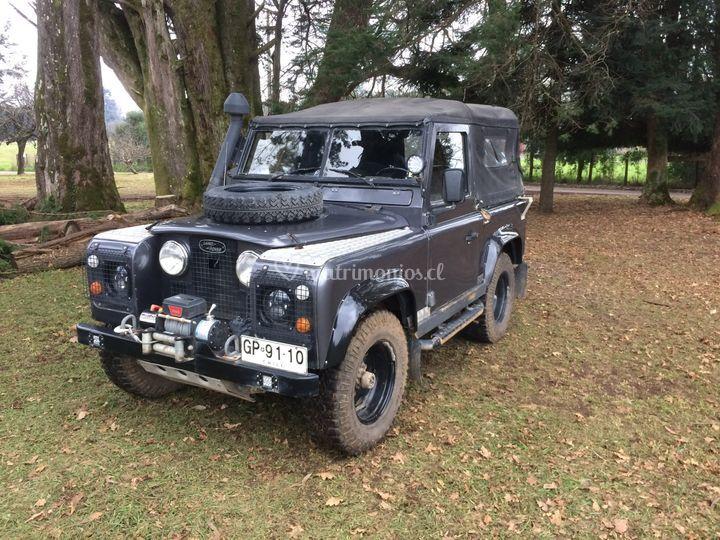 Jeep Land Rover para Novios
