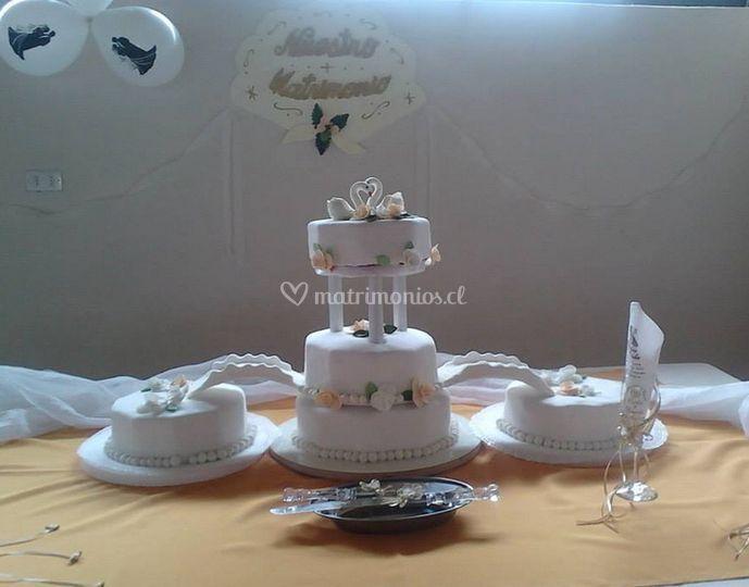 Mesa para tortas