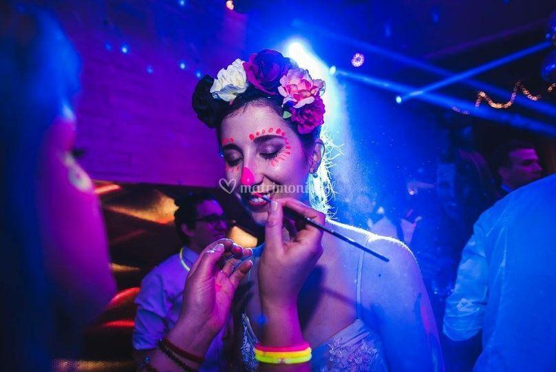 Makeup fluor para la novia