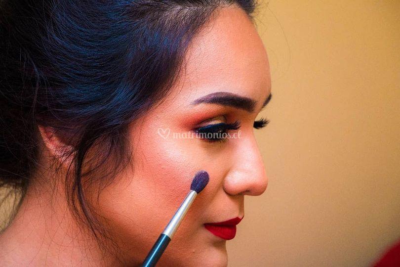 Josaury Sucre Makeup