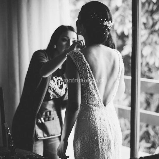 Retoques con la novia