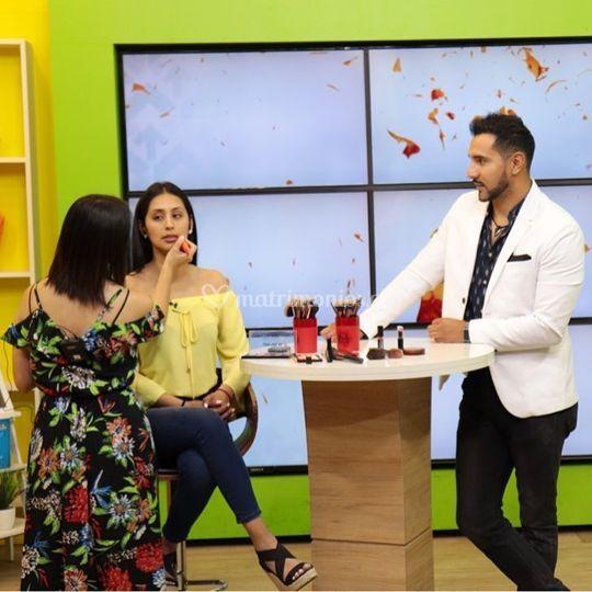 Panelista Makeup Canal 9