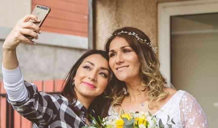 Selfie novia