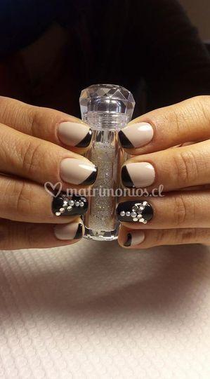 Esmaltado permanente con cristales