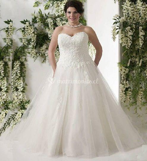 vestido de novia xl chile