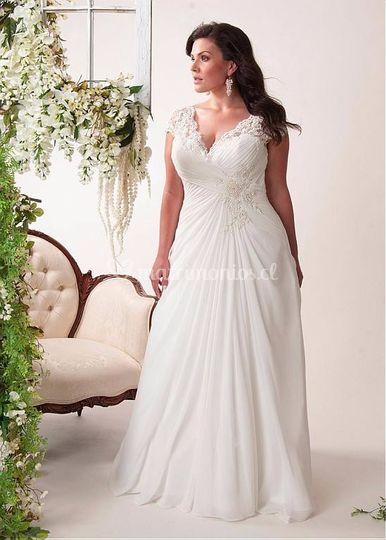 vestidos de novia xl