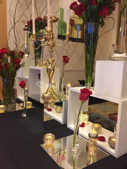 Matrimonio decoración