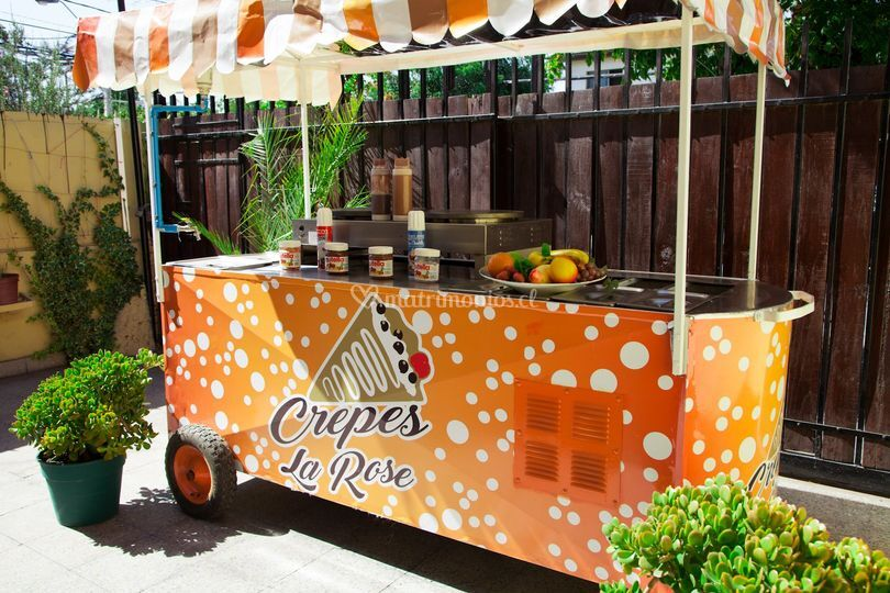 Carro Crepes LaRose