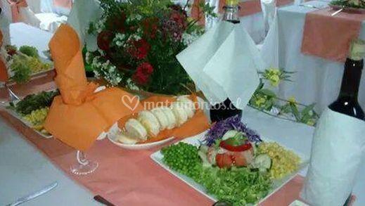 Presentación del banquete