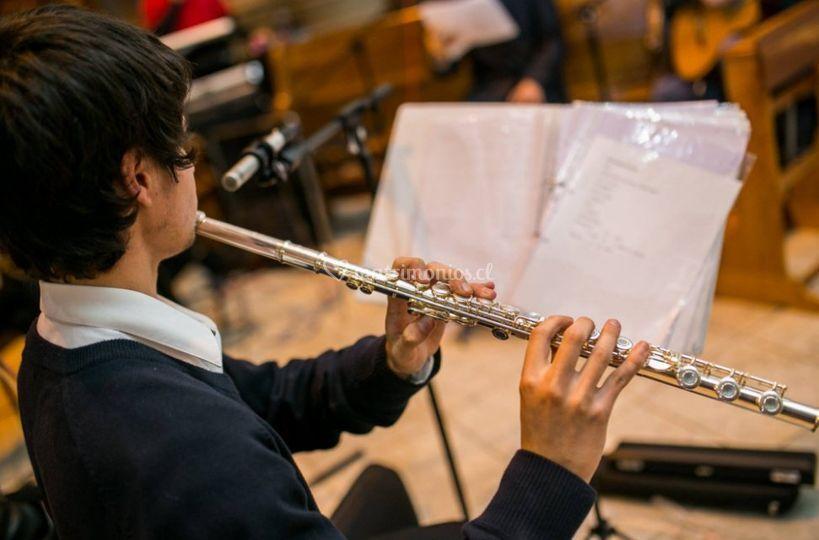 Excelente flautista