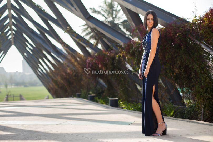 Maxi vestido magdalena