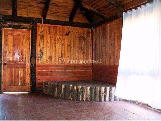 Escenario de madera