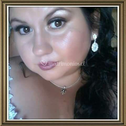 Novia make up noche