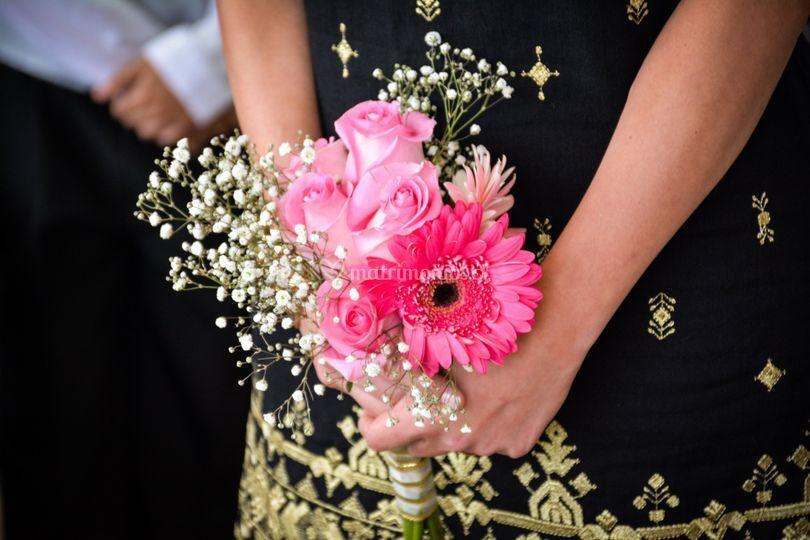 Ramo natural de novia