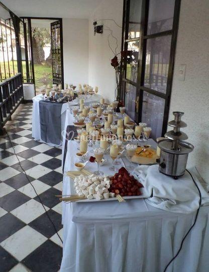 Presentación del buffet