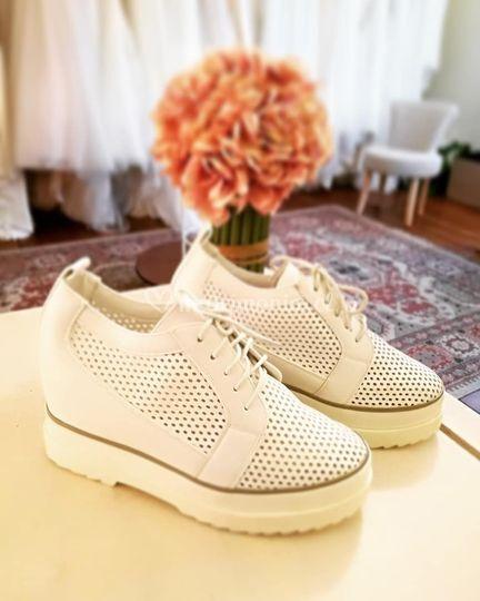 Zapatillas de novia