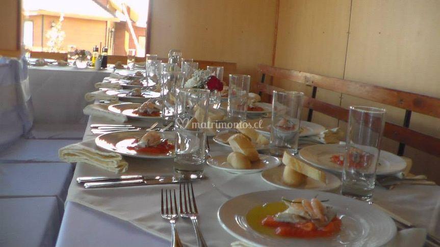 Elegancia en las mesas