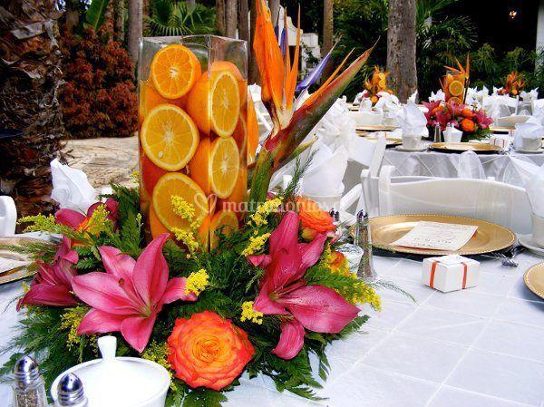 Hermoso centro de mesa